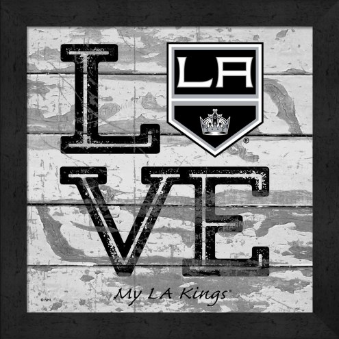 Los Angeles Kings Love My Team Square Wall Decor