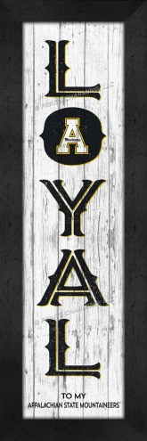 Appalachian State Mountaineers Loyal Wall Decor