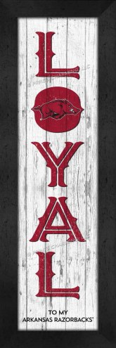 Arkansas Razorbacks Loyal Wall Decor