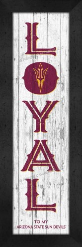 Arizona State Sun Devils Loyal Wall Decor