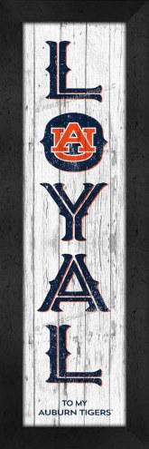 Auburn Tigers Loyal Wall Decor