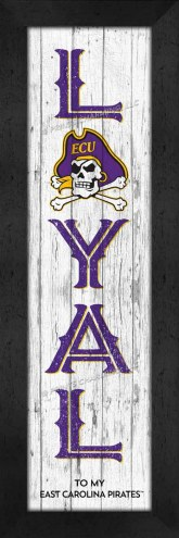 East Carolina Pirates Loyal Wall Decor
