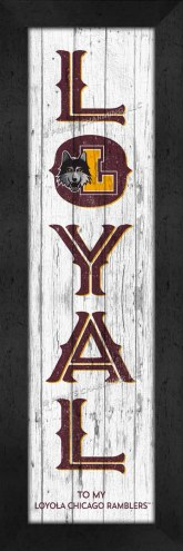 Loyola Chicago Ramblers Loyal Wall Decor