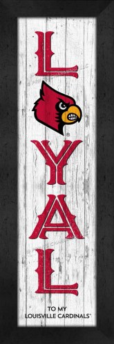 Louisville Cardinals Loyal Wall Decor