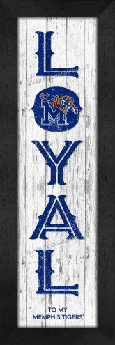 Memphis Tigers Loyal Wall Decor