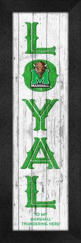 Marshall Thundering Herd Loyal Wall Decor
