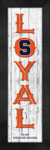 Syracuse Orange Loyal Wall Decor