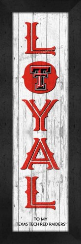 Texas Tech Red Raiders Loyal Wall Decor