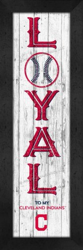 Cleveland Indians Loyal Wall Decor