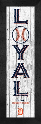 Detroit Tigers Loyal Wall Decor
