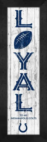 Indianapolis Colts Loyal Wall Decor