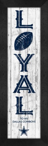 Dallas Cowboys Loyal Wall Decor