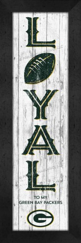 Green Bay Packers Loyal Wall Decor