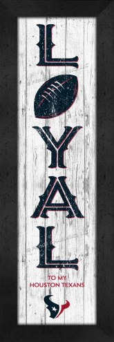 Houston Texans Loyal Wall Decor