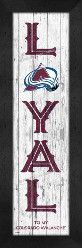 Colorado Avalanche Loyal Wall Decor