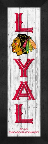 Chicago Blackhawks Loyal Wall Decor