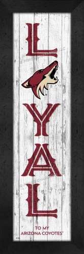 Arizona Coyotes Loyal Wall Decor