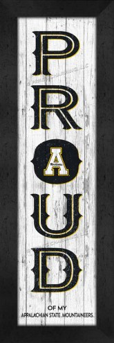 Appalachian State Mountaineers Proud Wall Decor