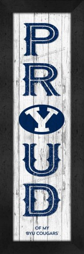 BYU Cougars Proud Wall Decor