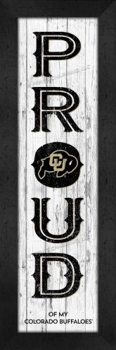Colorado Buffaloes Proud Wall Decor