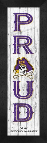 East Carolina Pirates Proud Wall Decor