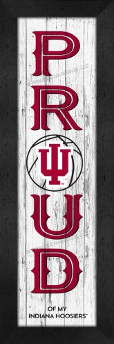 Indiana Hoosiers Proud Wall Decor