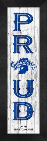 Indiana State Sycamores Proud Wall Decor