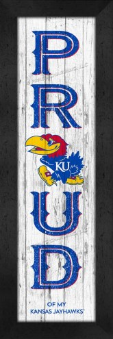Kansas Jayhawks Proud Wall Decor