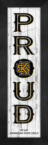 Kennesaw State Owls Proud Wall Decor