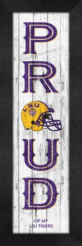 LSU Tigers Proud Wall Decor