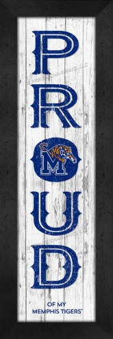 Memphis Tigers Proud Wall Decor