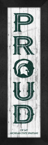 Michigan State Spartans Proud Wall Decor
