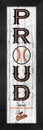 Baltimore Orioles Proud Wall Decor