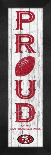 San Francisco 49ers Proud Wall Decor