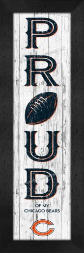 Chicago Bears Proud Wall Decor
