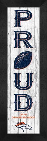 Denver Broncos Proud Wall Decor