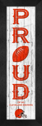 Cleveland Browns Proud Wall Decor