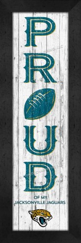 Jacksonville Jaguars Proud Wall Decor