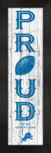 Detroit Lions Proud Wall Decor