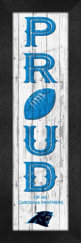 Carolina Panthers Proud Wall Decor