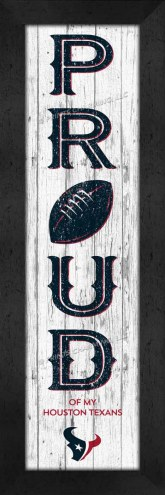 Houston Texans Proud Wall Decor