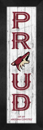 Arizona Coyotes Proud Wall Decor