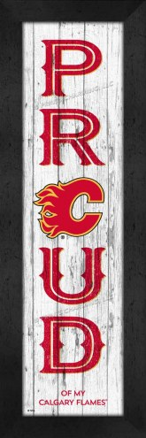 Calgary Flames Proud Wall Decor