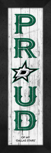 Dallas Stars Proud Wall Decor