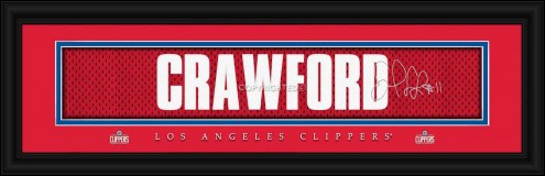 Los Angeles Clippers Crawford Framed Signature Nameplate