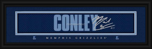 Memphis Grizzlies Conley Framed Signature Nameplate