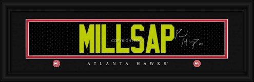 Atlanta Hawks Millsap Framed Signature Nameplate