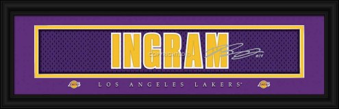 Los Angeles Lakers Ingram Framed Signature Nameplate
