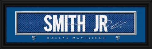 Dallas Mavericks Smith Jr. Framed Signature Nameplate
