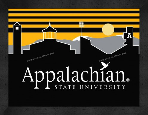 Appalachian State Mountaineers Uscape Wall Decor